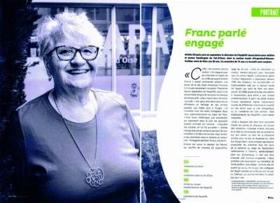 Portrait Arlette Giraud