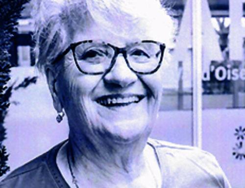 Portrait de Arlette Giraud, présidente de l'Apajh du Val d'Oise.