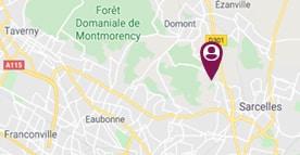 Situer Esat Domont Saint-Brice-la-Forêt
