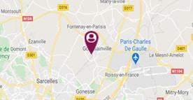 Situer Esat J.Claude Gauthe à Goussainville