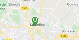 Situer la Mas du Docteur Savage à Sarcelles