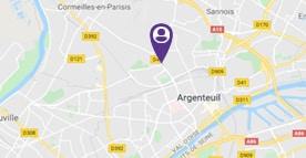 Situer le SAVS d'Argenteuil