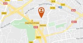 Situer le SESSAD d'Argenteuil